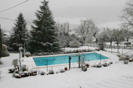 Snow-on-Pool